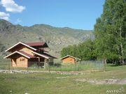 новый  дом на речке, на Алтае , 57 соток