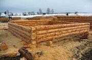 Строительство деревянных домов,  бань и беседок