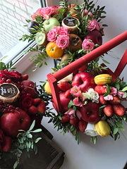 Мужские букеты Тюмень,  съедобные букеты,  букеты из фруктов.