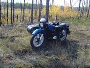 Урал, цвет синий, Битый ,  б/у